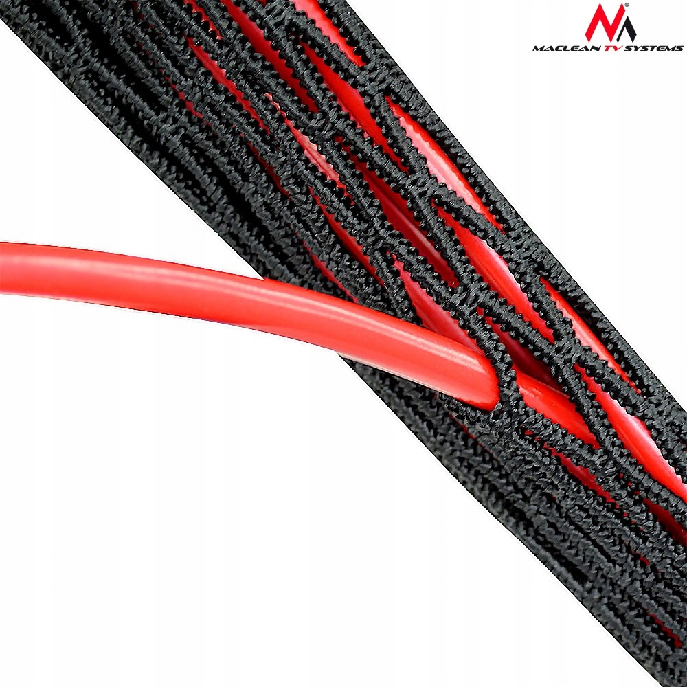 MCTV-544 51435 Maskownica kabli z suwakiem dwustr