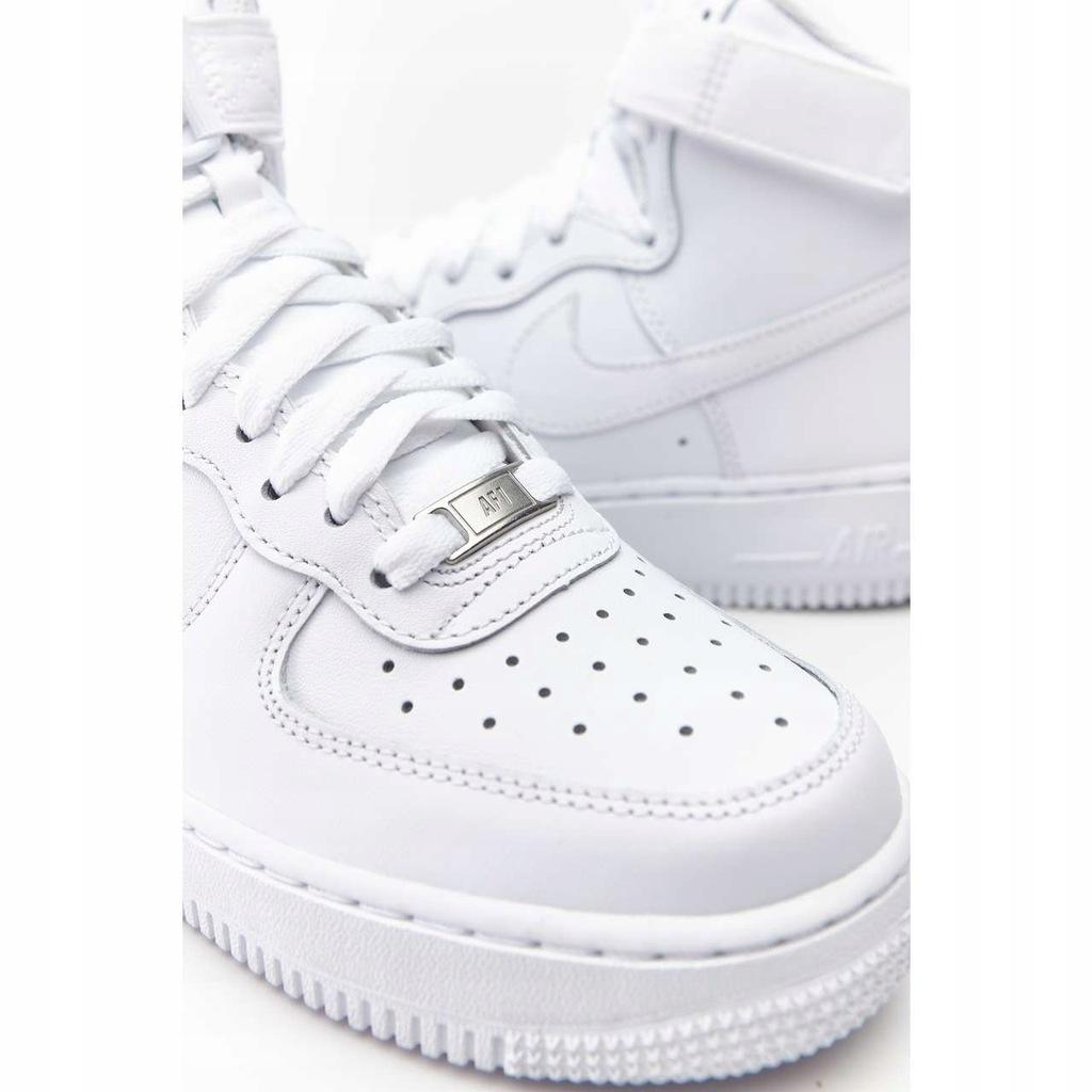Wysokie Buty Damskie Nike AIR FORCE za kostkę 36