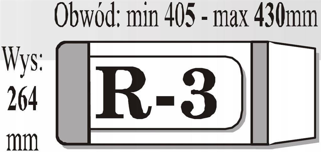 Okładka książkowa regulowana R3 (50szt) IKS