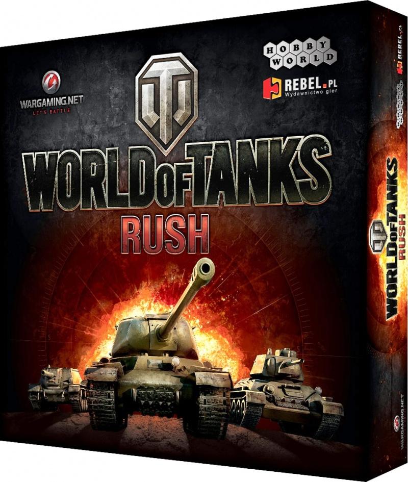 World Of Tanks Rush Gra Planszowa 7193453767 Oficjalne Archiwum Allegro