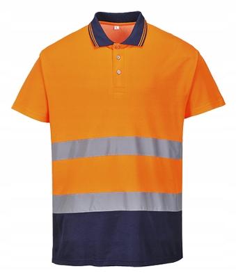 Koszulka robocza odblaskowa polo S174 Portwest M