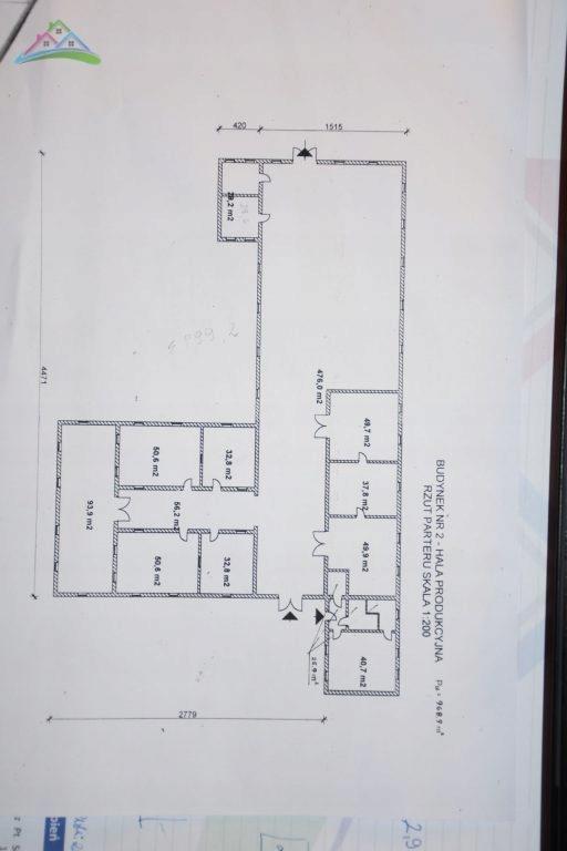 Magazyny i hale, Stargard, 969 m²