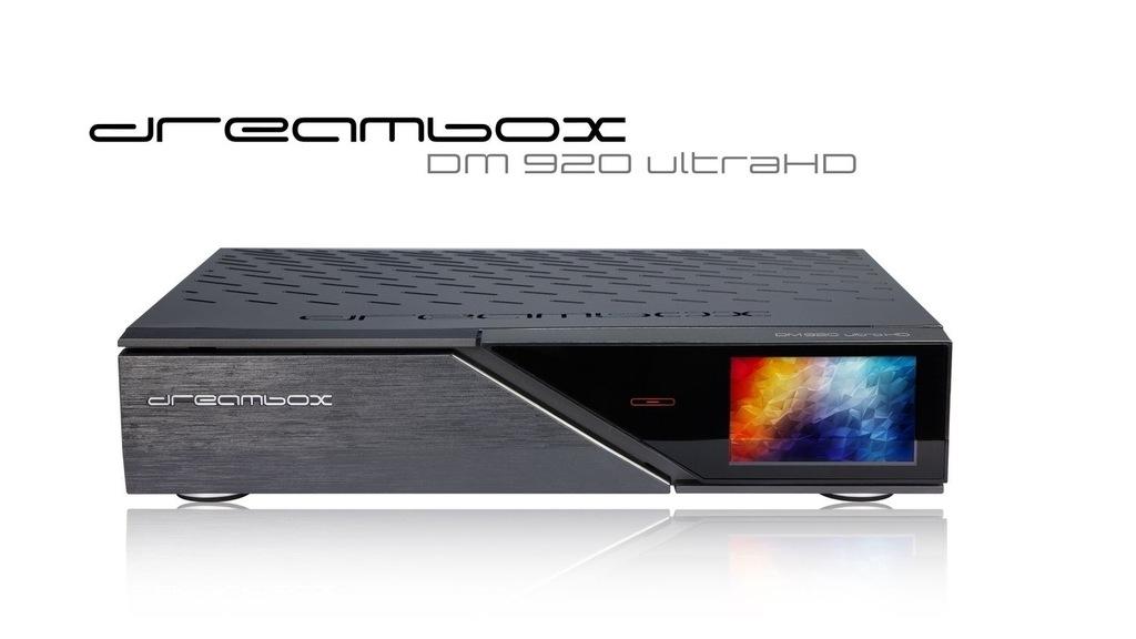 DREAMBOX DM920 UHD 4K 2xDVB-S2X MS FBC ORYGINAŁ