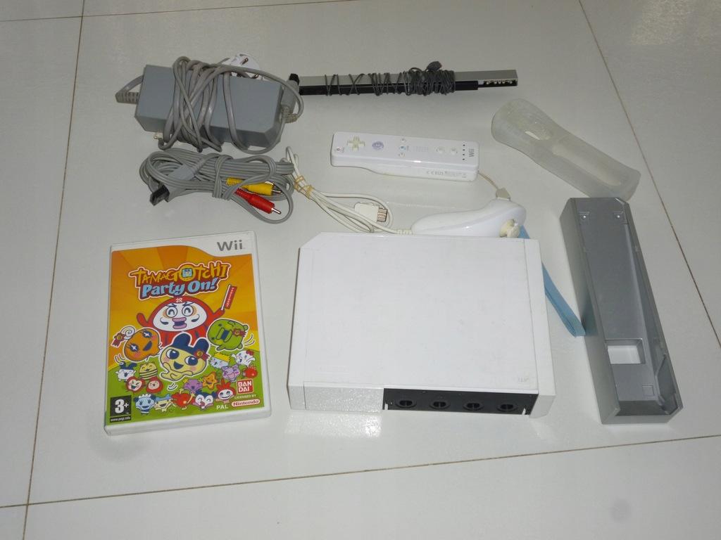 Konsola Nintendo Wii biała gry dodatki sprawna