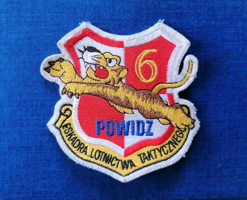 Naszywka 6 Eskadra Lotnictwa Taktycznego.