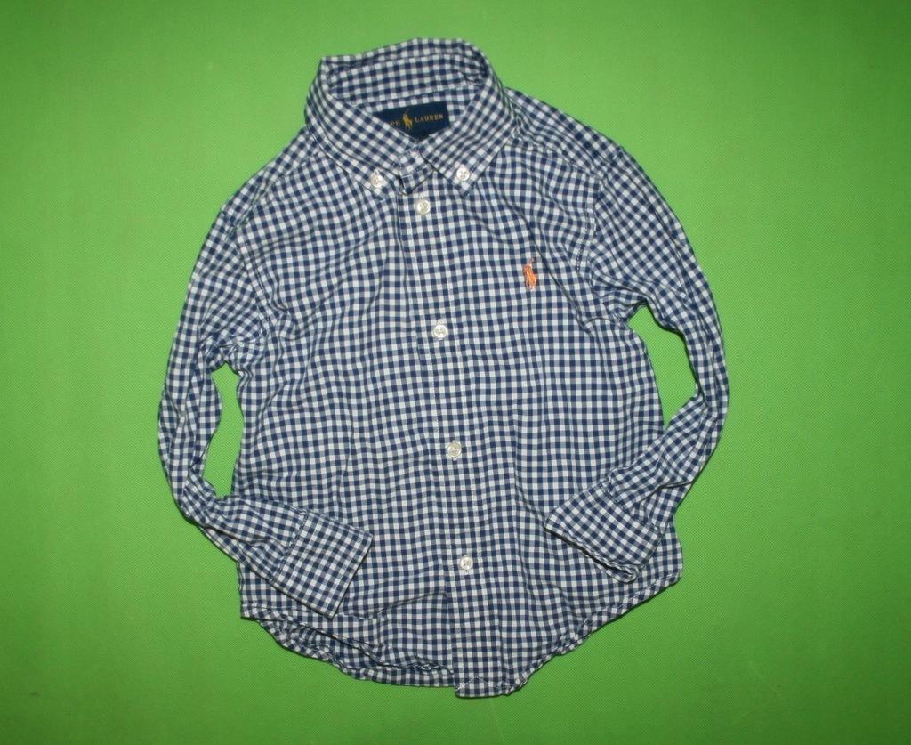 RALPH LAUREN markowa stylowa koszula 98 KOLEKCJA!