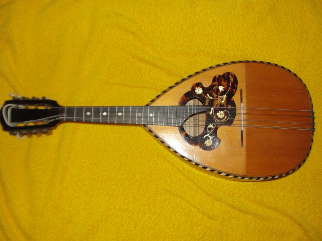 Koncertowa lutnicza mandolina Rene Gerome Cherrier