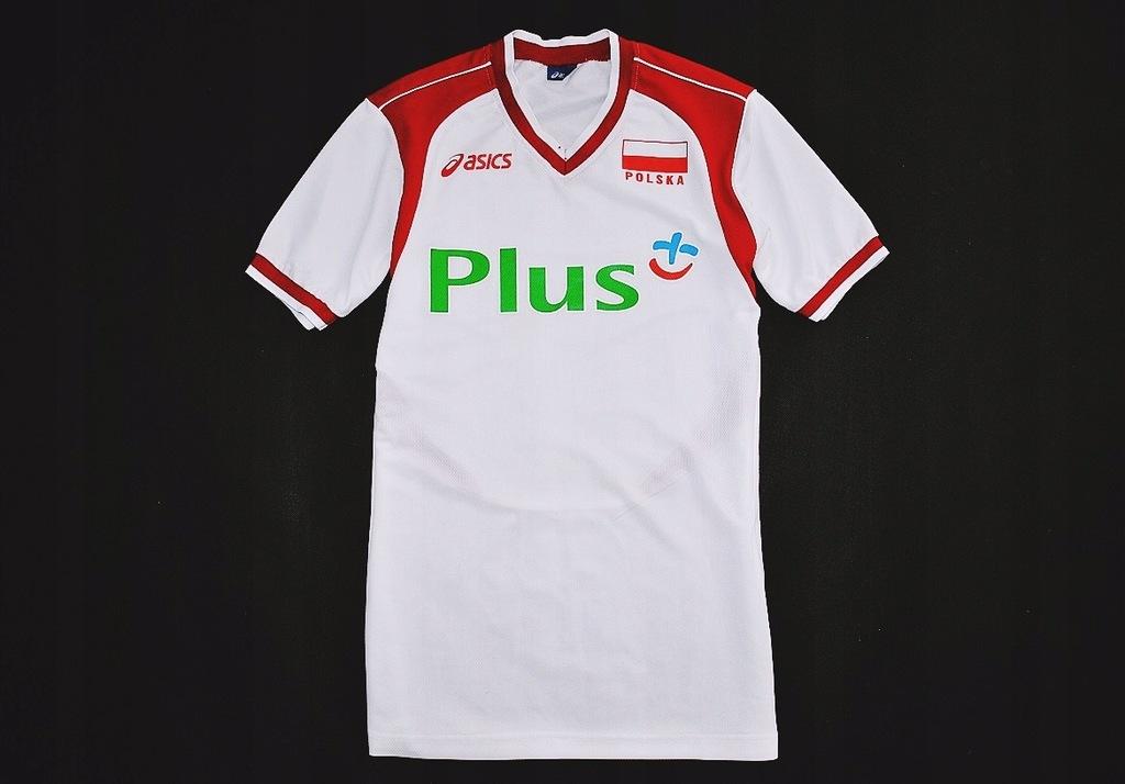 Siatkarska koszulka ~ASICS~ POLSKA ~Home Jersey ~L