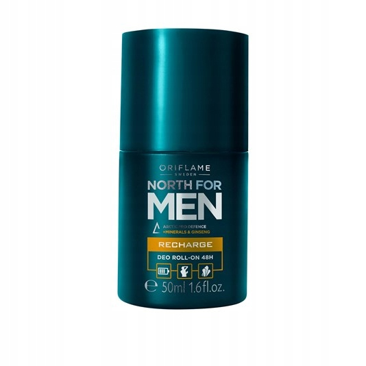 Antyperspiracyjny dezodo North for Men Oriflame+m