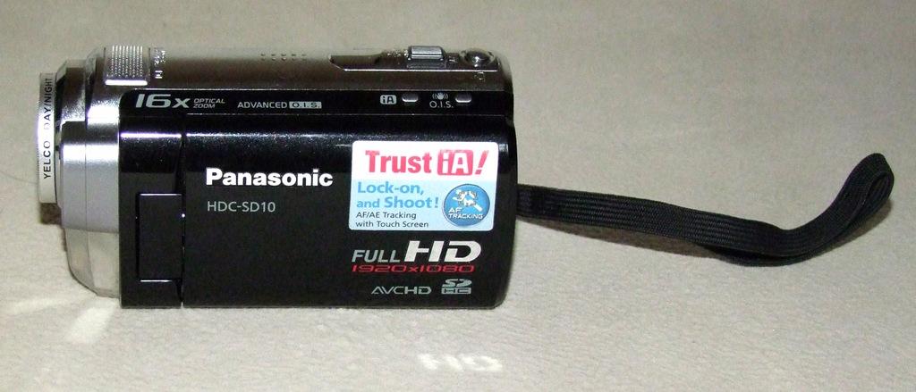 Kamera cyfrowa Panasonic HDC-SD10