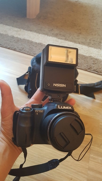 Panasonic Lumix fz 150.