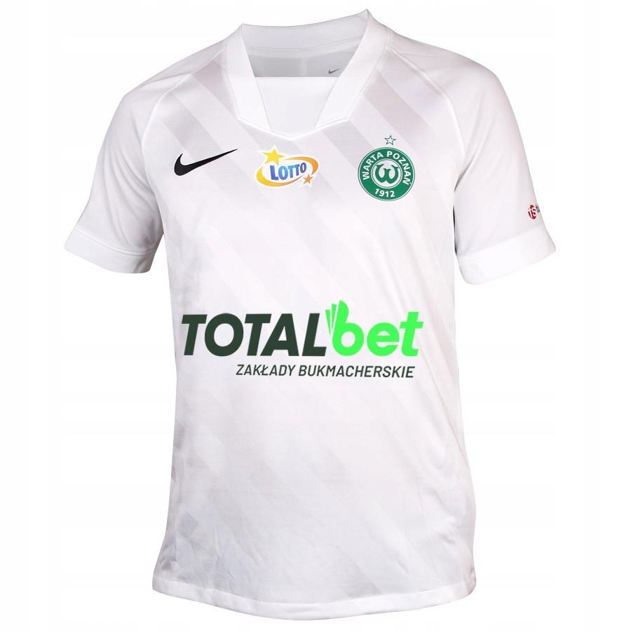Koszulka meczowa Warta Poznań biała S694506 L biał