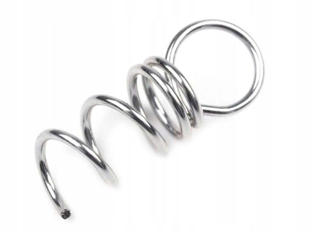 Zawieszki metalowe do wkręcania w styropian 5 szt