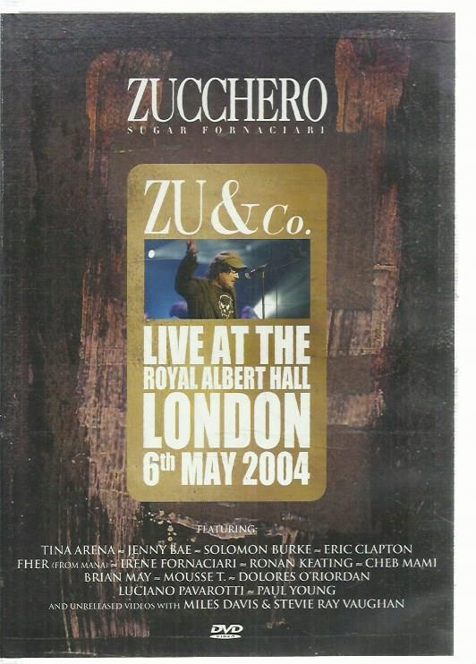 DVD LIVE AT THE ROYAL ALBERT HALL ZU & CO