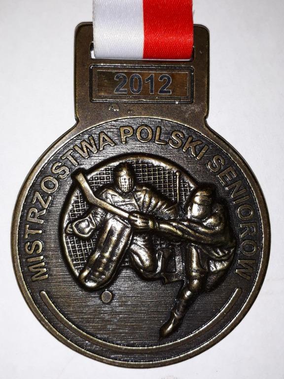 Złoty medal sanockiej drużyny hokejowej 2012