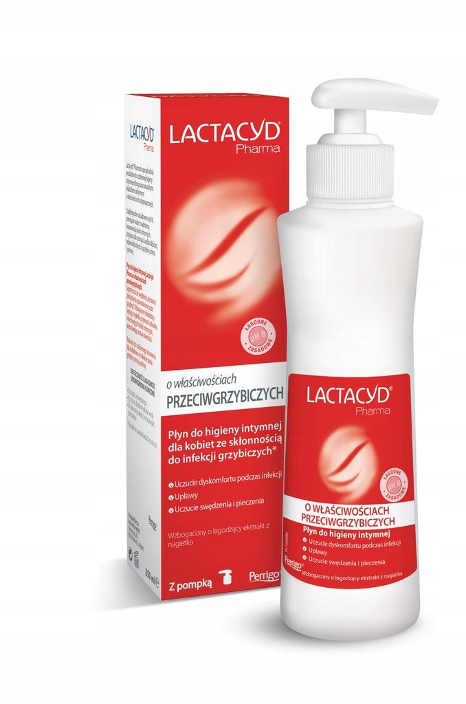 LACTACYD Płyn ginekologiczny przeciwgrzybiczy 250