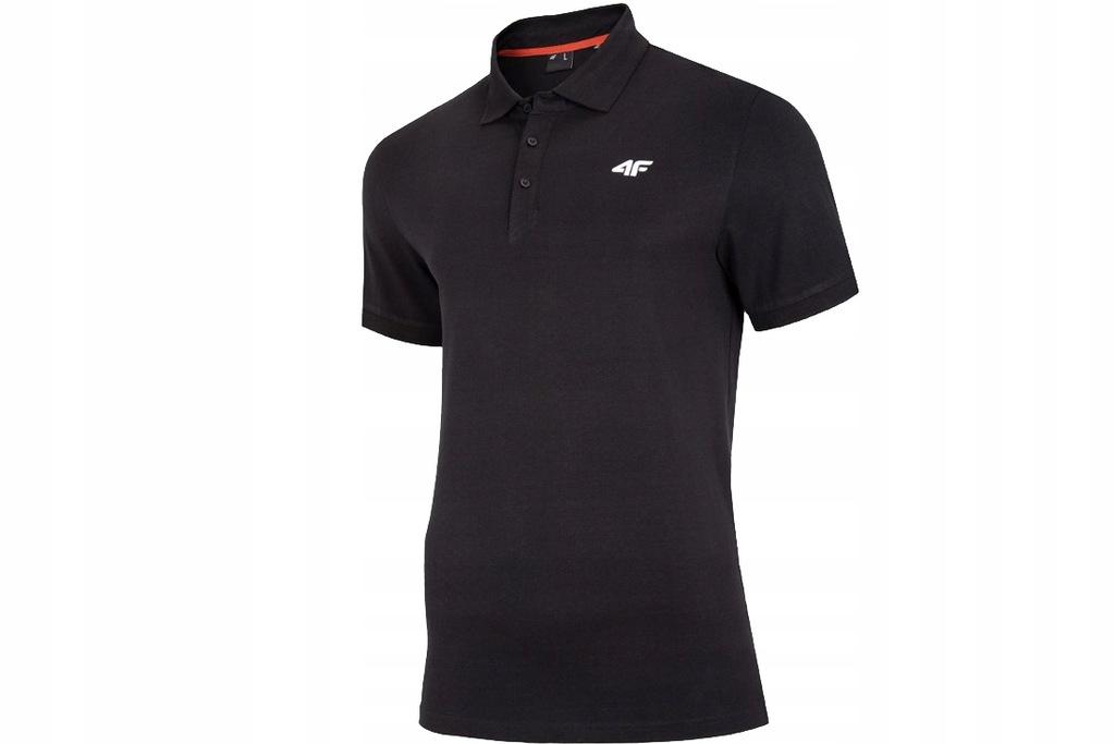 4F MEN'S T-SHIRT POLO (XXL) Męski T-shirt