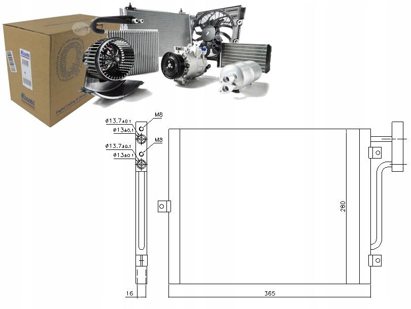 SKRAPLACZ KLIMATYZACJI PORSCHE BOXSTER S 3.2 (986)