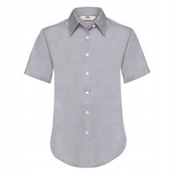 DAMSKA koszula OXFORD SHORT FRUIT szary XS