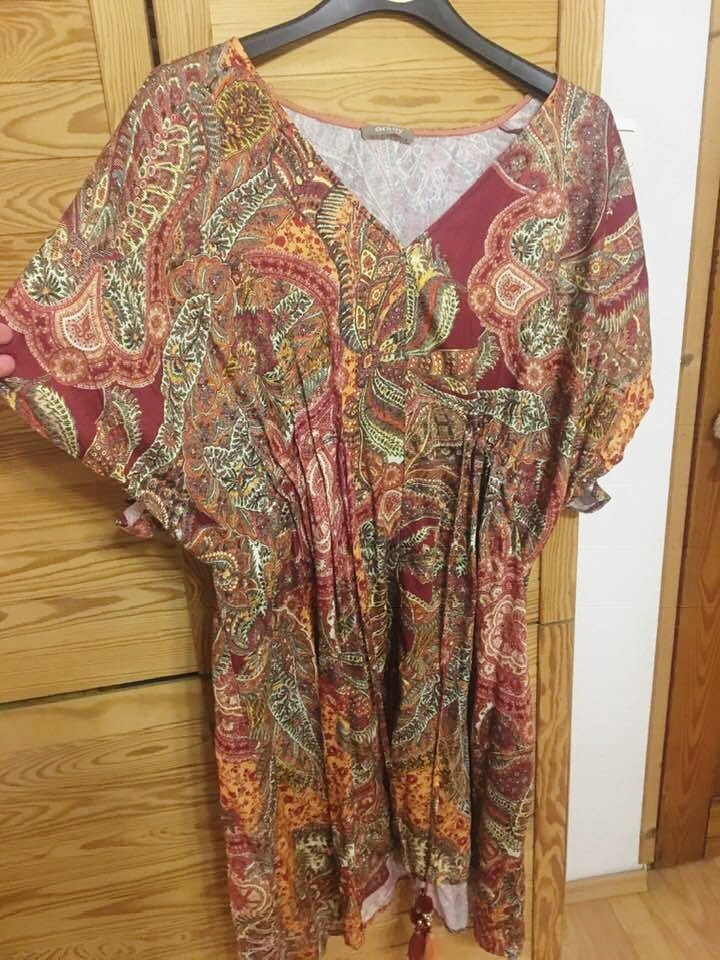Sukienka we wzory, Orsay, rozmiar 42