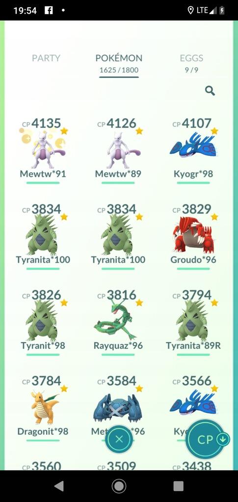 Konto Pokemon Go 40 Lvl Najsilniejsze Na Allegro 8531257294 Oficjalne Archiwum Allegro
