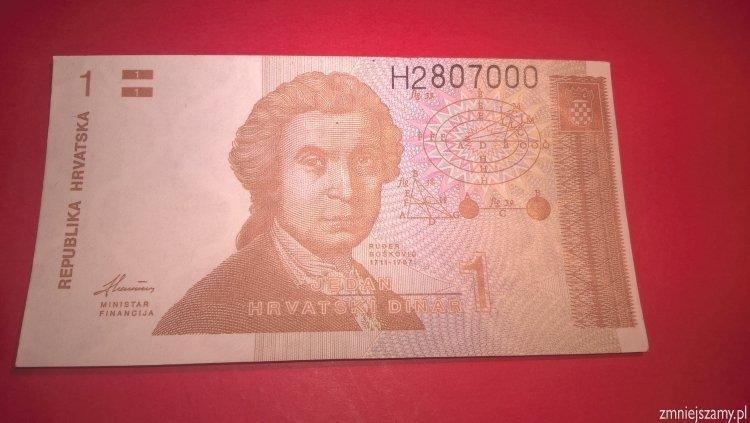 Chorwacja - 1 dinar dla WOŚP
