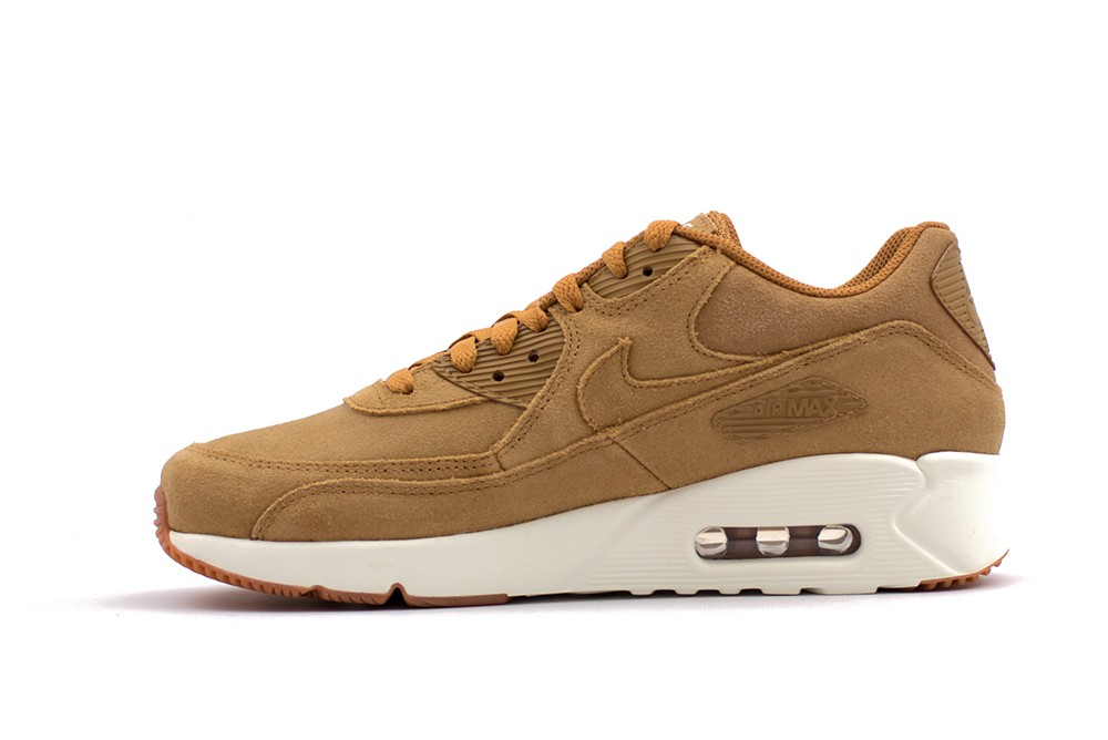 Nike Air Max 90 Ultra 20 Leather Flax 924447 200