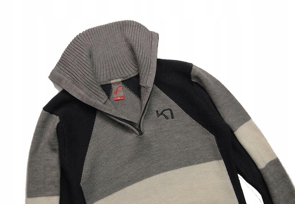 Sweter KARI TRAA Merino Welniany Golf Zimowy