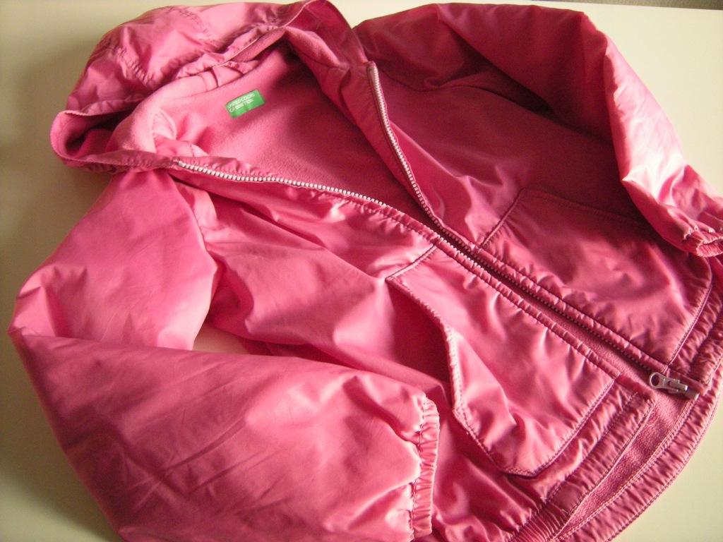 Benetton kurtka na polarze rozm 134