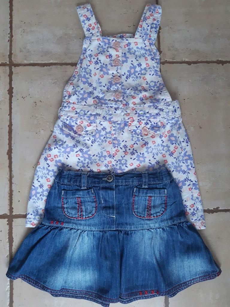 Ubrania dla dziewczynki WIOSNA MODNE bluzki i body