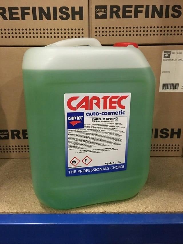 Cartec Carfum Spring 10 L Wytrzymały auto perfum