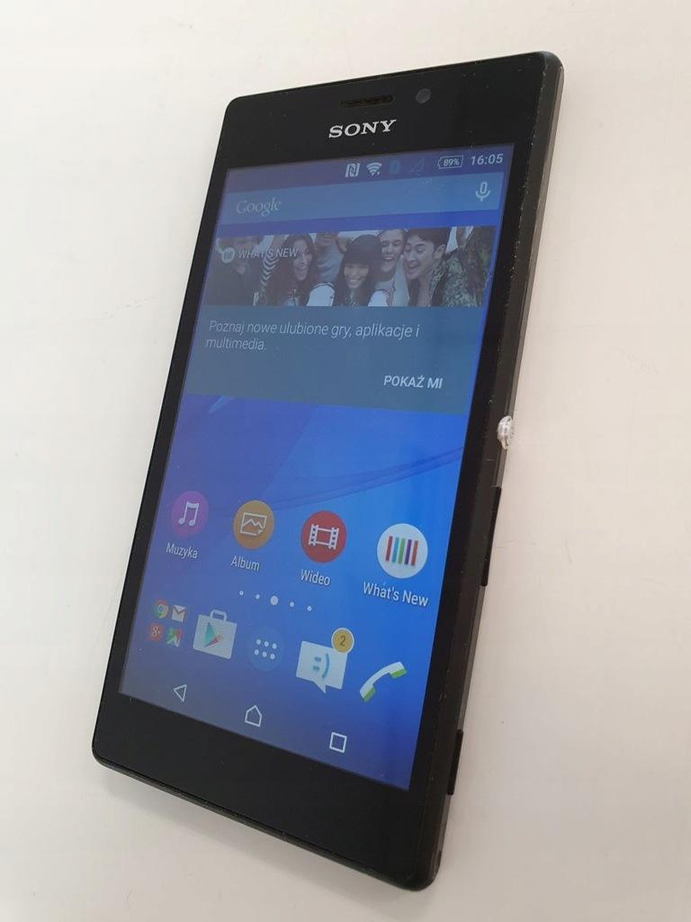Sony Xperia M2 D2303 BLACK czarny