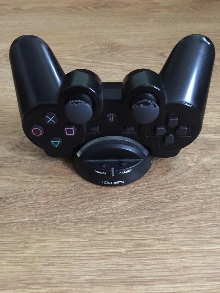 KONTROLER SONY DUALSHOCK 3 PS3 BEZPRZEWOD+ łADOWAR