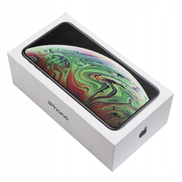 Pudełko Apple iPhone XS Max Space Gray 256 GB UE