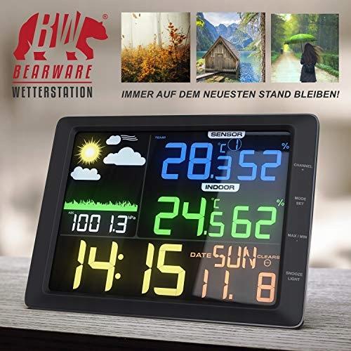 Stacja pogody CSL 20 cm LCD 7230371572