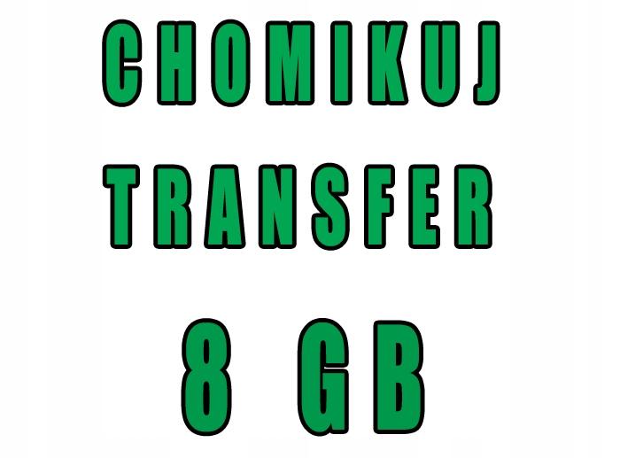 CHOMIKUJ TRANSFER 8 GB BEZTERMINOWO
