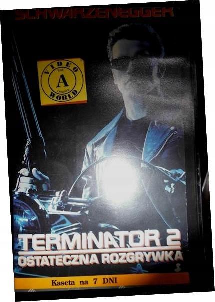 Terminator 2 - VHS kaseta video