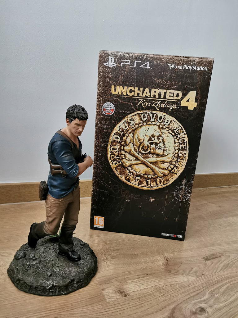 Figurka Uncharted 4 Nathan Drake PS4 edycja