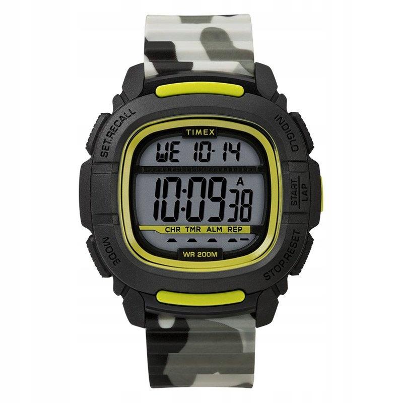 Zegarek męski Timex TW5M26600 SHOCK Resist WR200