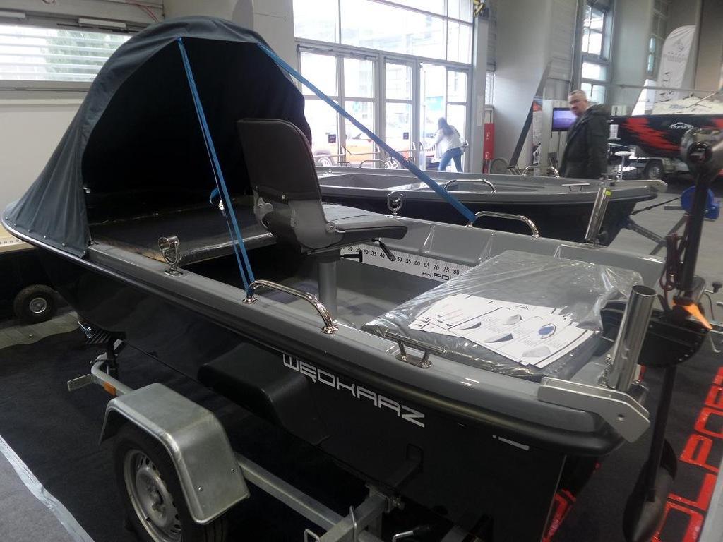Łódź łódka wiosłowa wędkarska POLPORT 345 WĘDKARZ