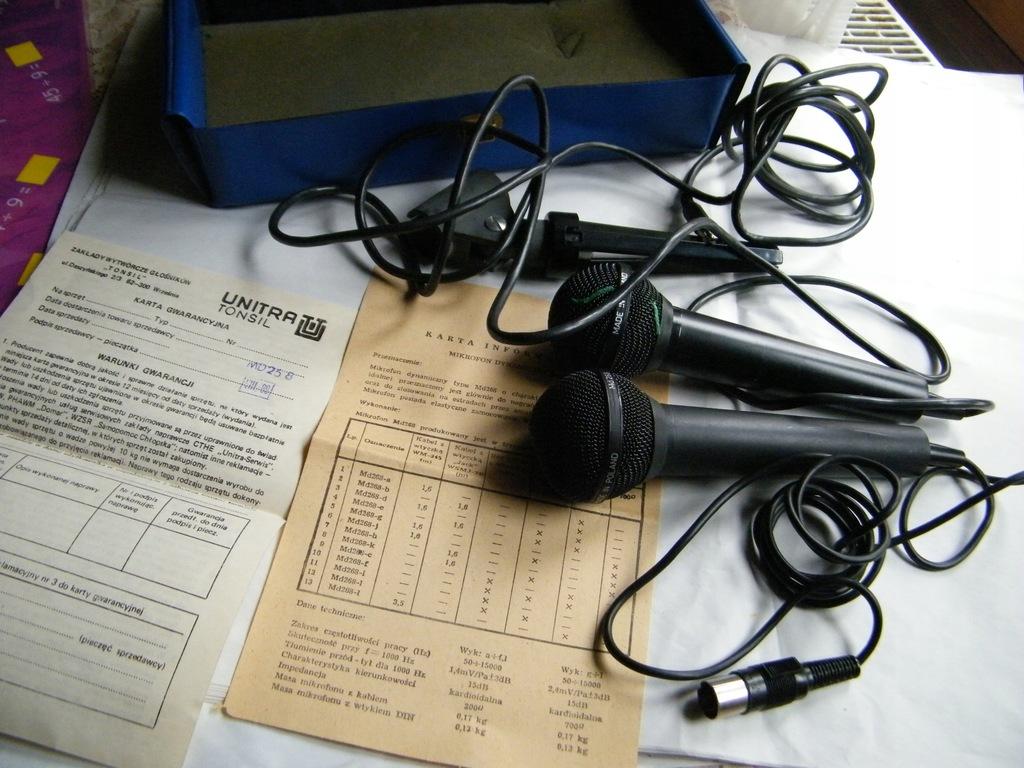 Stare mikrofony MD 268