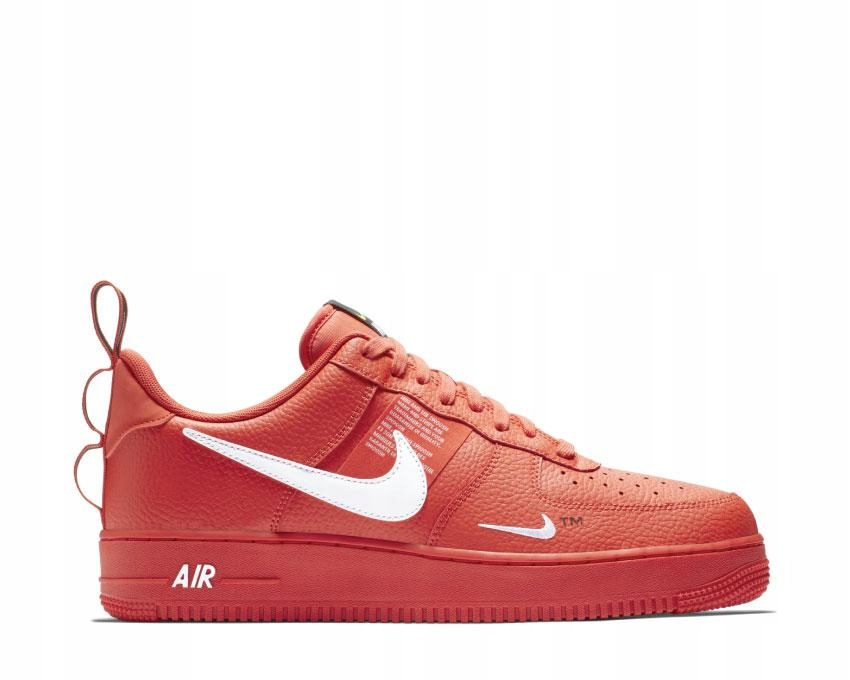 Nike Air Force 1 Low '07 LV8 Red AJ7747 600, r. 43