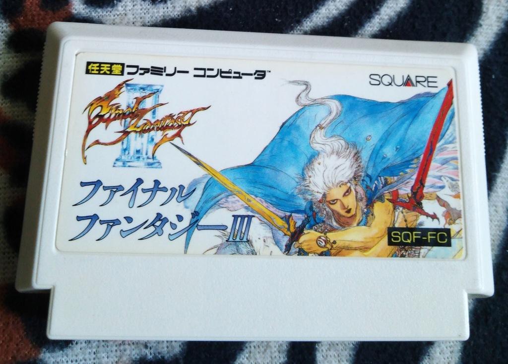 Kartridż (Cartrigde) Famicom - Final Fantasy III: