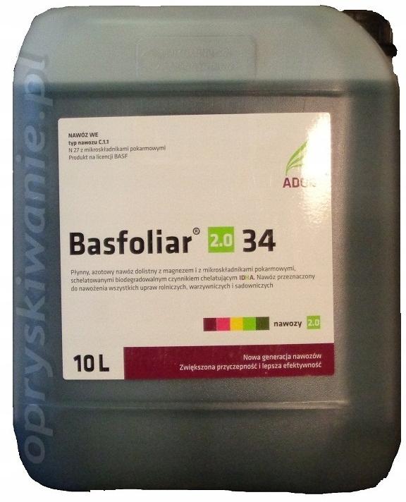 Basfoliar 10l nawóz azotowy N36 nawóz dolistny