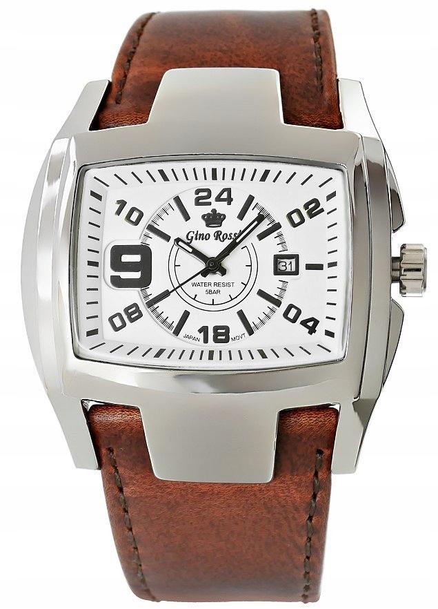 Zegarek Męski Gino Rossi 6433A-3B1
