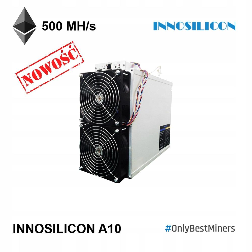 Innosiicon A10 Ehtmaster 500Mhz / 750W Ethereum
