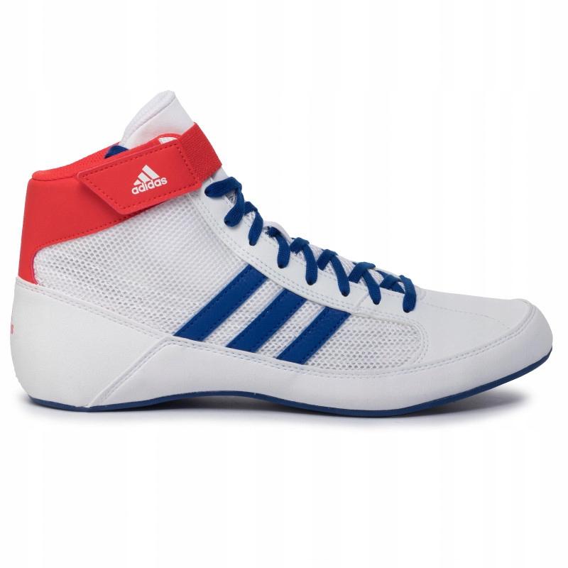 Buty zapaśnicze bokserskie Adidas BD7129 Białe