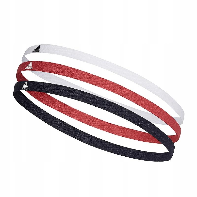 adidas 3 Pack Hairbands Opaski na włosy 216