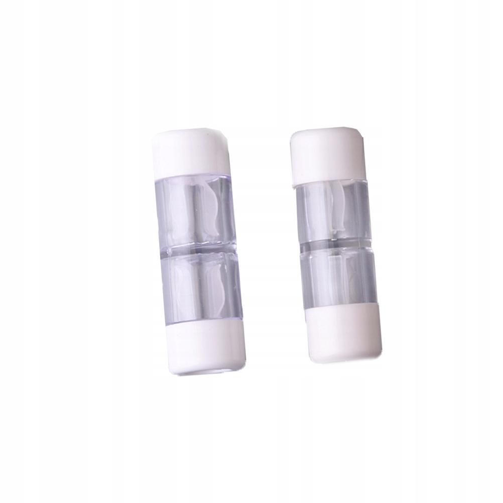 1 zestaw Pojemnik na soczewki kontaktowe Przechowy