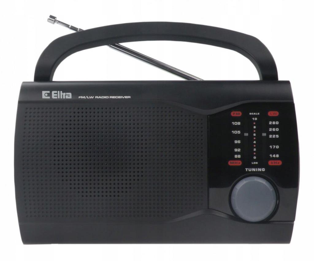 Eltra Radio EWA Czarny